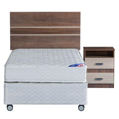 Box Americano 1 Plaza Flex New Entree + Respaldo + Velador