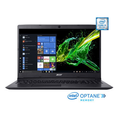 """Notebook Acer A315-53-54LN Core i5 4GB 1TB 15.6"""" 16GB Optane"""
