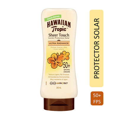 Protector Solar Sheer Touch FPS50 + 120 ml