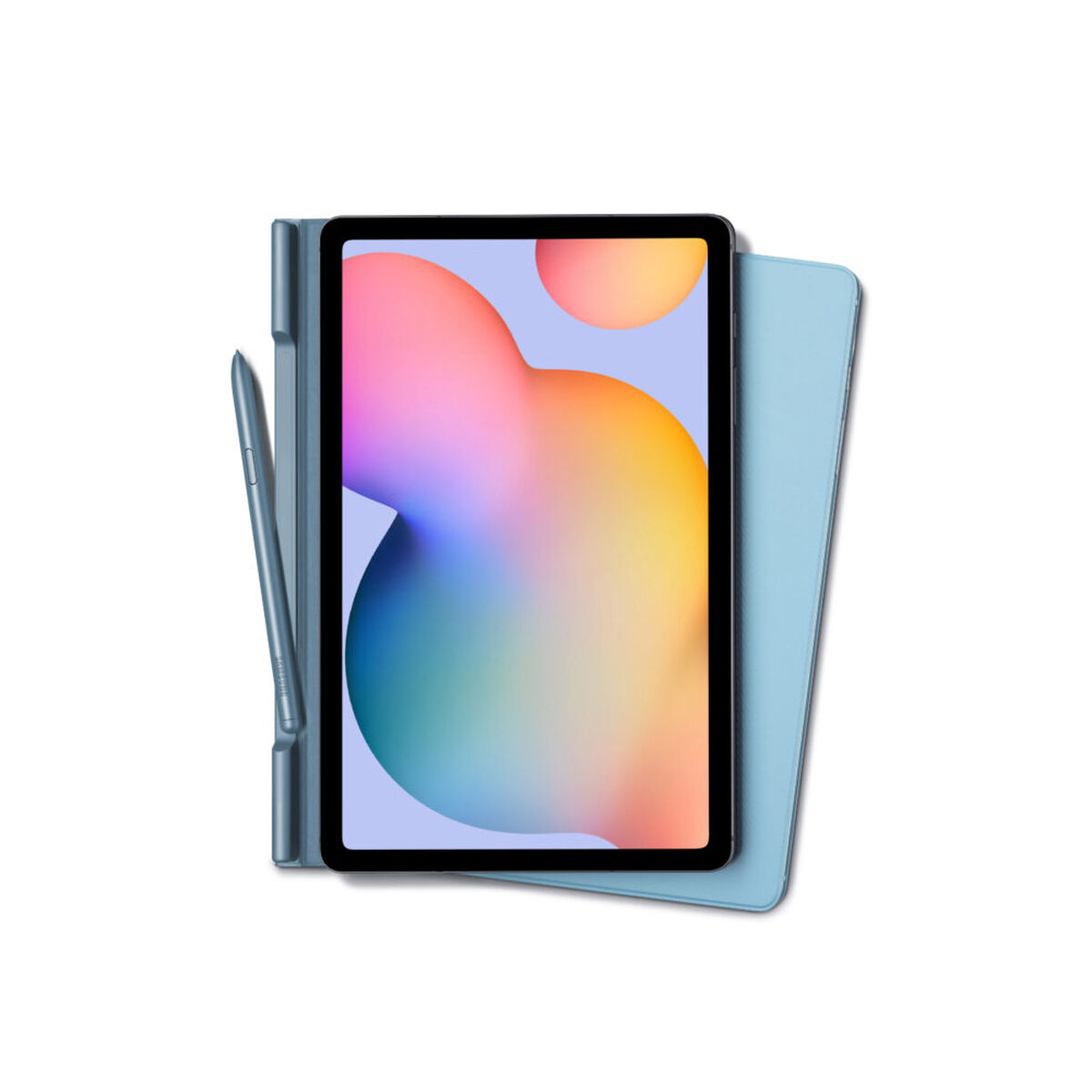 "Tablet Samsung S6 Lite Octa Core 4GB 64GB 10.4"" Azul Wi-Fi + S-Pen + Cover"