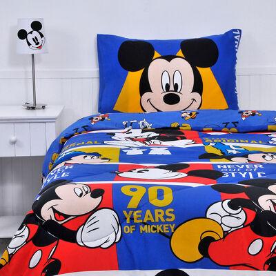Plumón Mickey 90 Años 1,5 Plazas