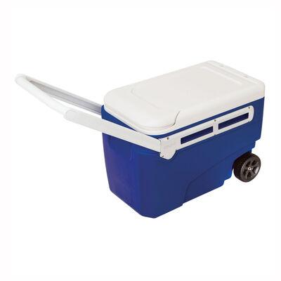 Cooler Igloo con ruedas y asa 36 lt