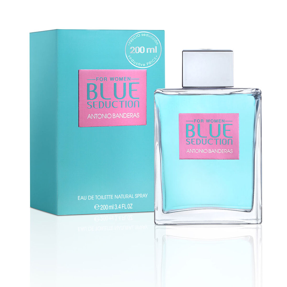 Blue Seduction Woman 200 ml