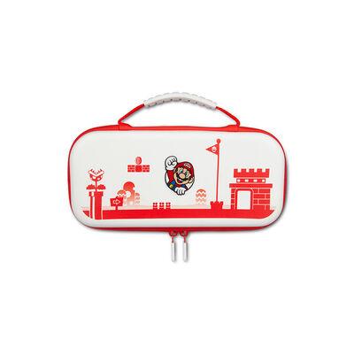 Estuche Power A Nintendo Switch Lite Mario White