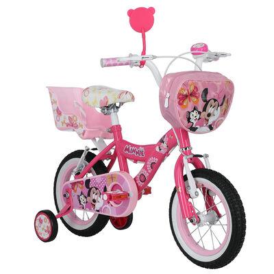 Bicicleta Niña DisneyMinnie Aro 12 Rosado