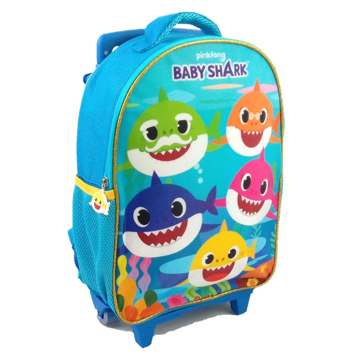 Mochila con Ruedas Escolar Baby Shark