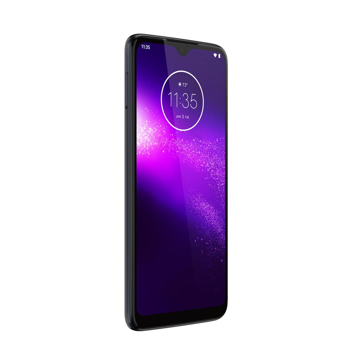 "Celular Motorola One Macro 64GB 6.2"" Space Blue WOM"