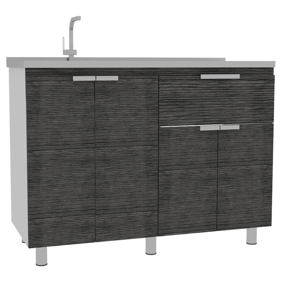 Combo 2 Fendi | Muebles Inferior + Superior + Alacena + Microondas