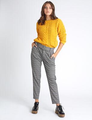 Pantalón Zibel Mujer Check