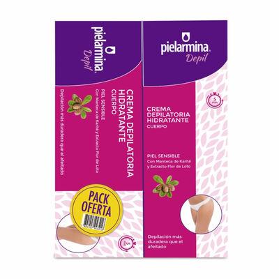 Crema Depilación Pielarmina Duo Cuerpo 100+100