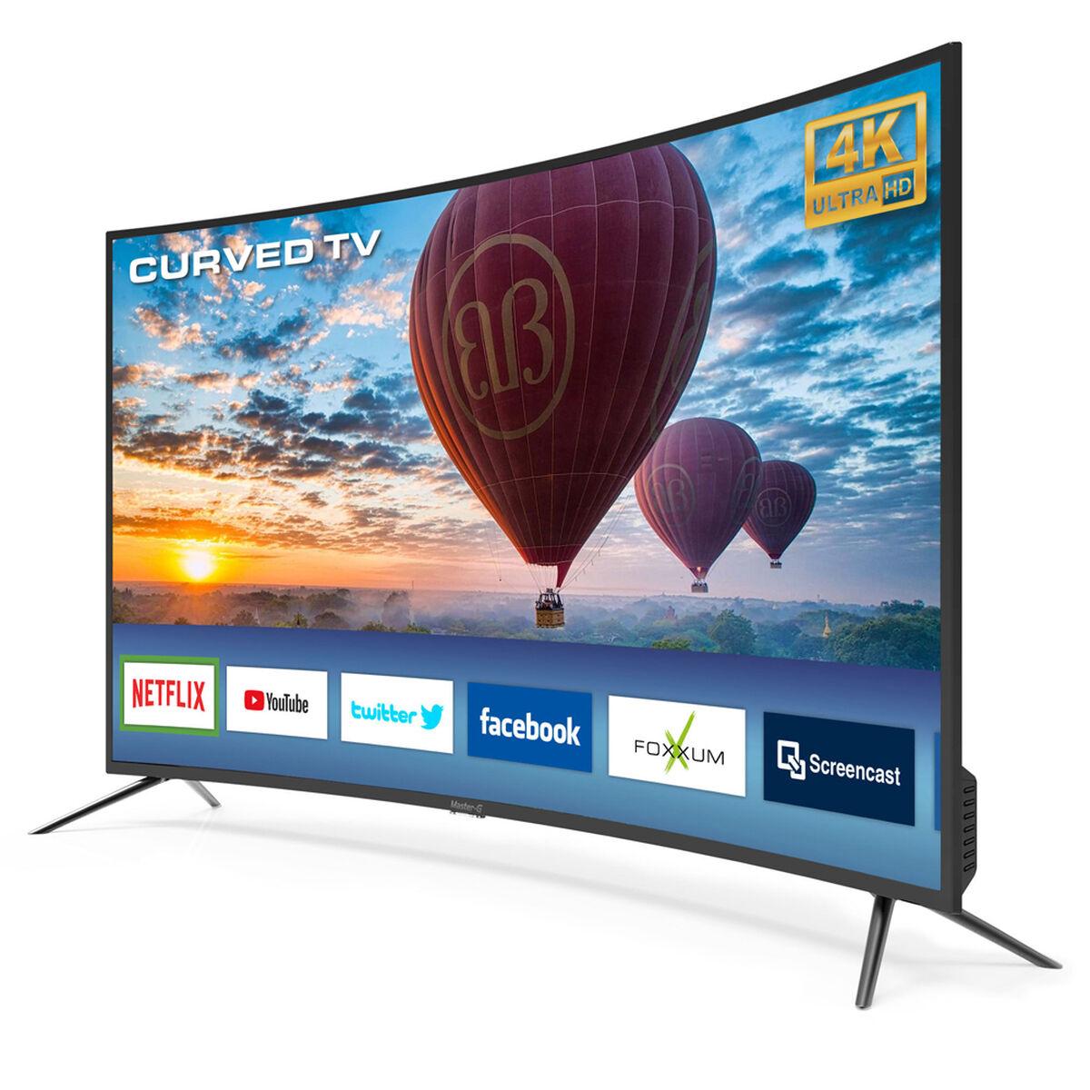 """LED Curvo 55"""" Master-G MGUC5540X Smart TV Ultra HD"""