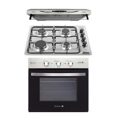 Kit Cocina Sindelen Campana CA-610EIN + Horno Empotrable HE-7200IN + Encimera CEG-4600IN