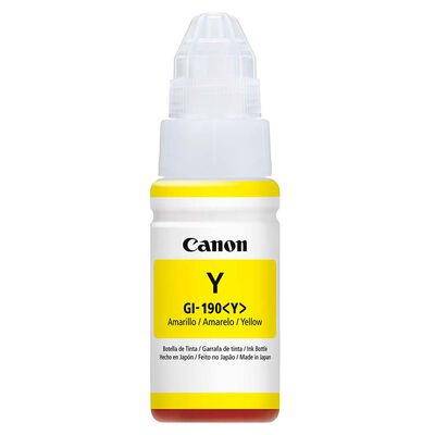 Tinta para Impresora Canon GI-190 Yellow