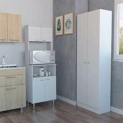 Combo Kitchen 5 Mueble Microondas + Optimizador