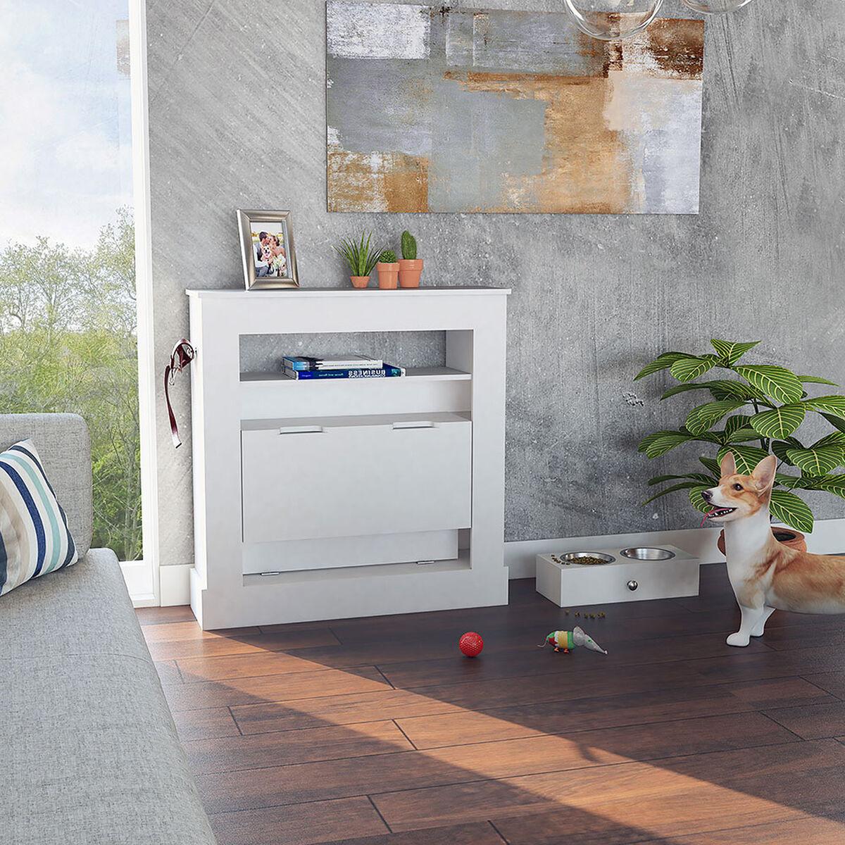 Mueble Cama + Plato para Mascotas Mastiff TuHome