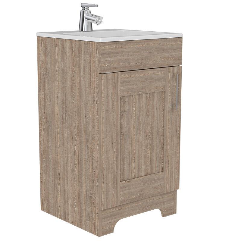 Set Muebles Ahorrador + Lavamanos + Gabinete Espejo