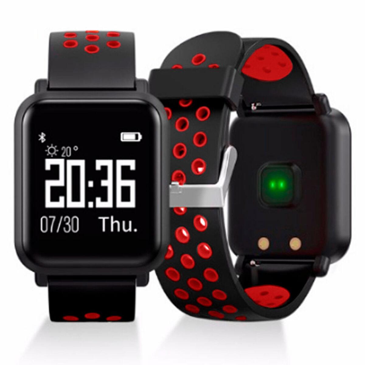 Reloj Deportivo Smartwatch LhotseSW55 Rojo
