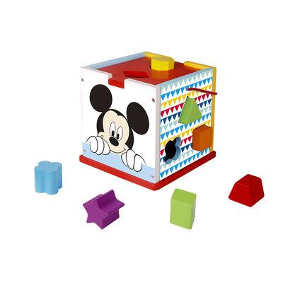 Cubo Shape Sorter Mickey Disney