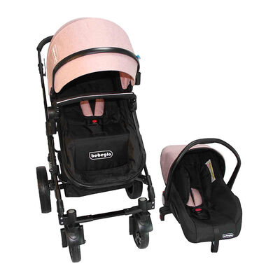 Coche Travel System Orleans RS-13650-5 Rosado