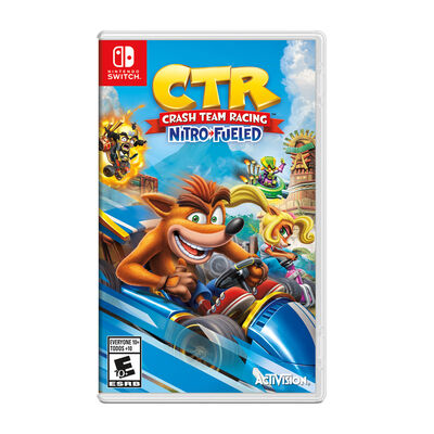 Juego Nintendo Switch Crash Team Racing Nitro-Fueled