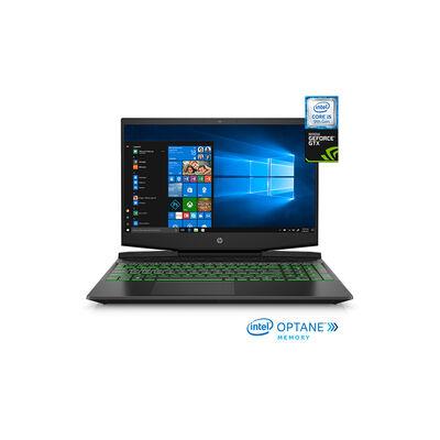 """Notebook Gamer HP 15-dk0015 Core i5-9300H 8GB 256GB SSD 15.6"""" 3GB NVIDIA GTX 1050 + 16GB Optane"""