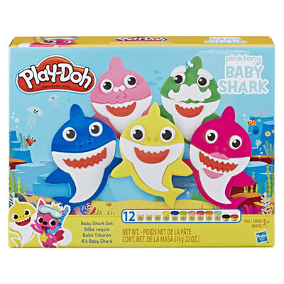 Bebé Tiburón Play-Doh