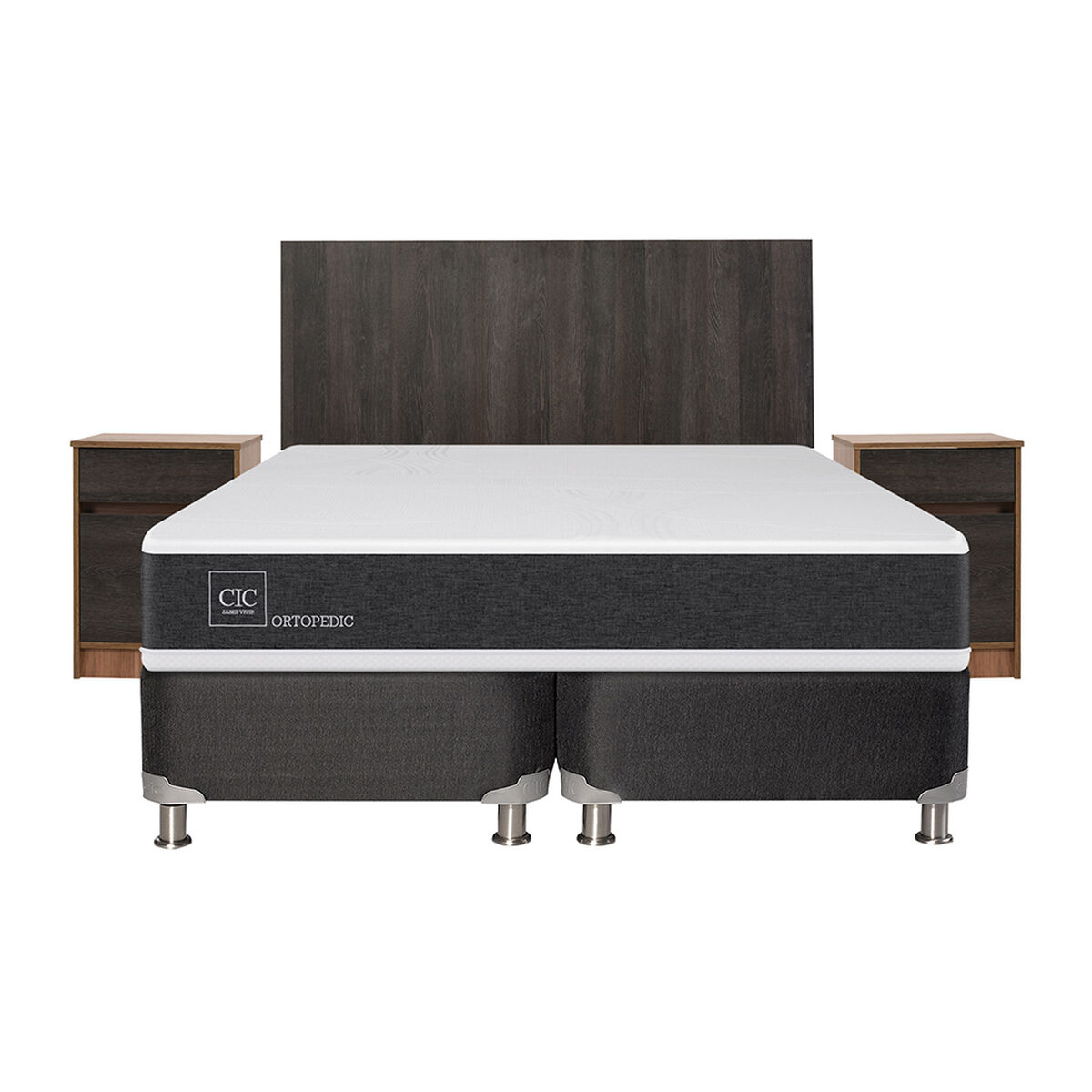 Box Spring King Div Ortopedic