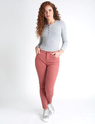 Jeans Indigo Icono Mujer Tiro Alto Push