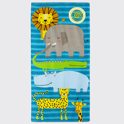 Toalla de Playa Casanova Kids Safari Toalla 70 x 140 cm