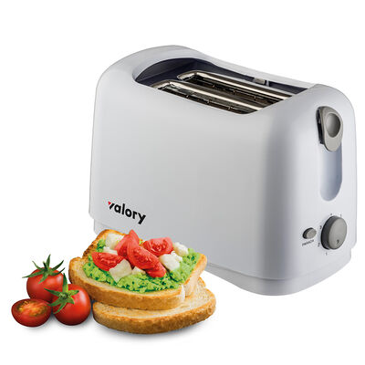 TOST_2PANS VALORY  YT-6002 BLAN 750W