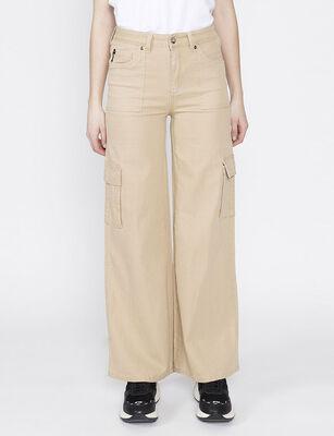 Pantalón Flare Mujer Ellus