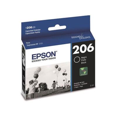 Tinta Cartridge Epson T206 120-AL Negro