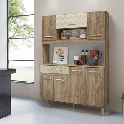 Mueble de Cocina Boom Café 7 Puertas 1 Cajón