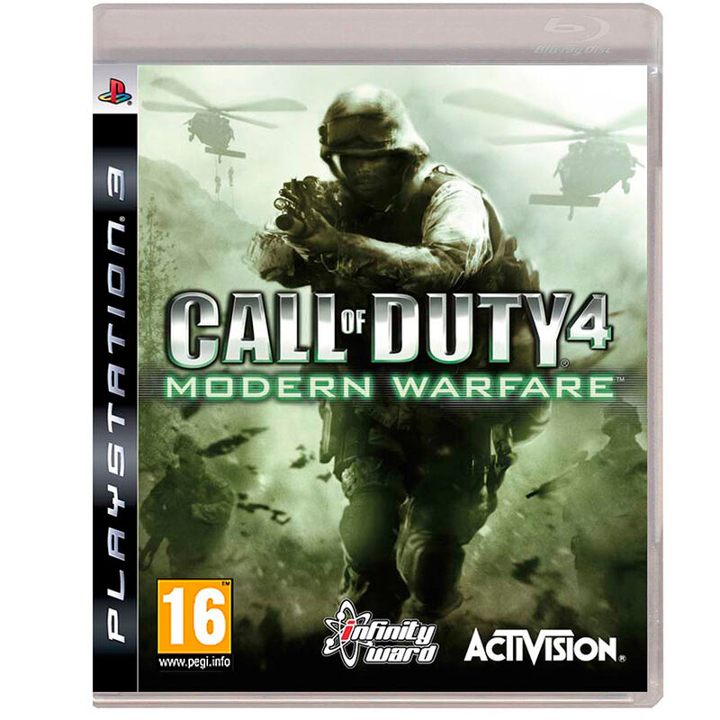 Juego PS3 Call of Duty 4 Modern Warfare (español)