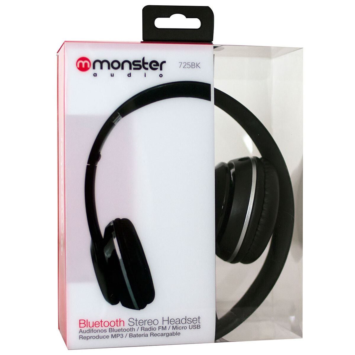 Audífonos Bluetooth Fuji Monster Negros
