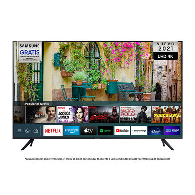 """LED 70"""" Samsung AU7000 Smart TV UHD 4K 2021"""