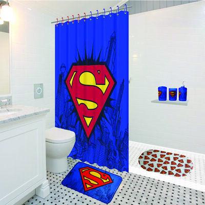 Conjunto de Baño 3 Piezas Superman Logo