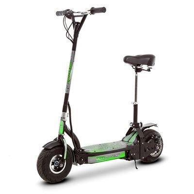 """Scooter Eléctrico con asiento ES04-A UBER Verde 9"""""""