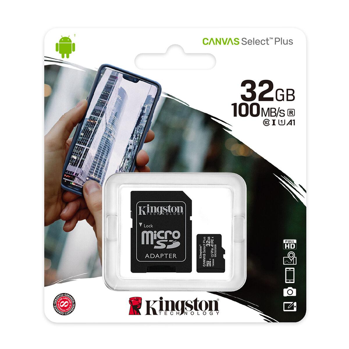 Tarjeta Micro SD Kingston 32GB con Adaptador