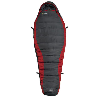 Saco de Dormir National Geographic Climb Rojo