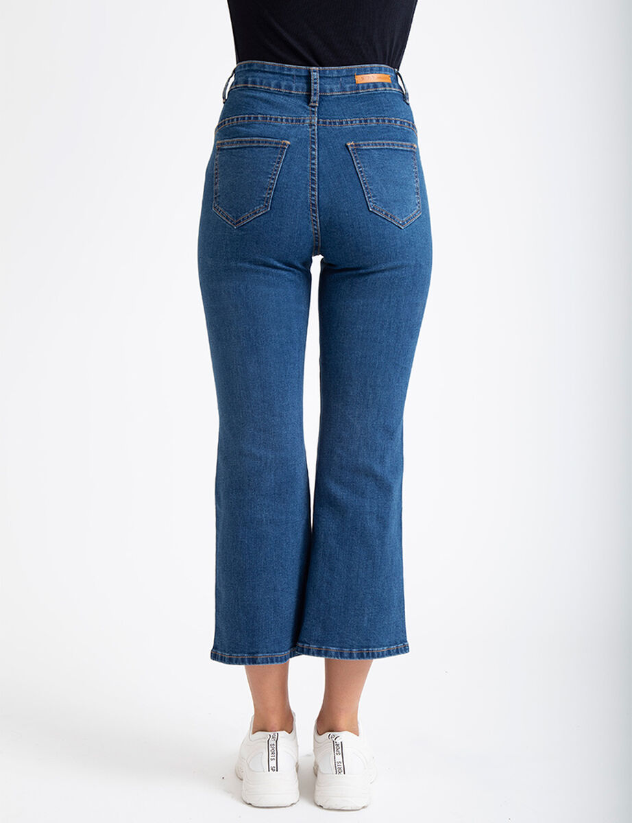 Jeans Flare Argolla Icono