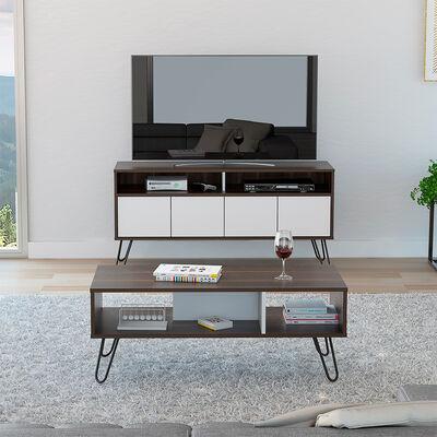 """Rack Tv 55"""" + Mesa De Centro Vassel"""