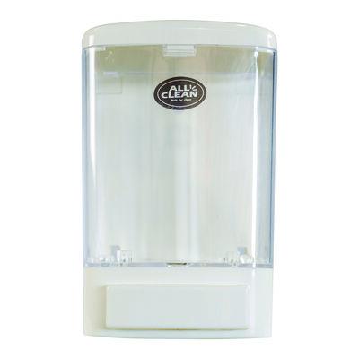 Dispensador Plástico de Jabón Allclean Blanco 1000 ml