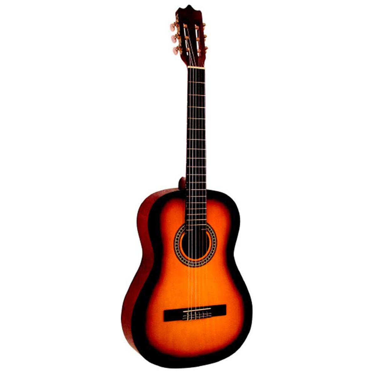 Set Guitarra Clásica 39'' Alaguez Sunburst AZ-39SSET