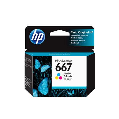 Tinta Cartridge HP 667 Tri-Color 2 ml