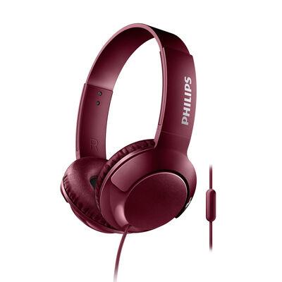 Audífonos Over Ear Philips SHL3075RD BASS+ Rojos