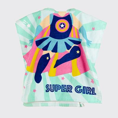 Toalla de Playa Casanova Kids Super Girl 60 x 120 cm