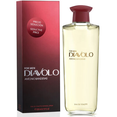 Perfume Antonio Banderas Diavolo 200 ml