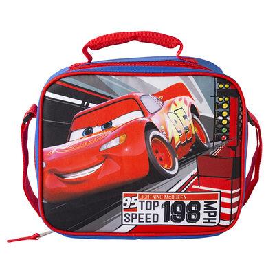 Lonchera Rectangular Escolar Cars