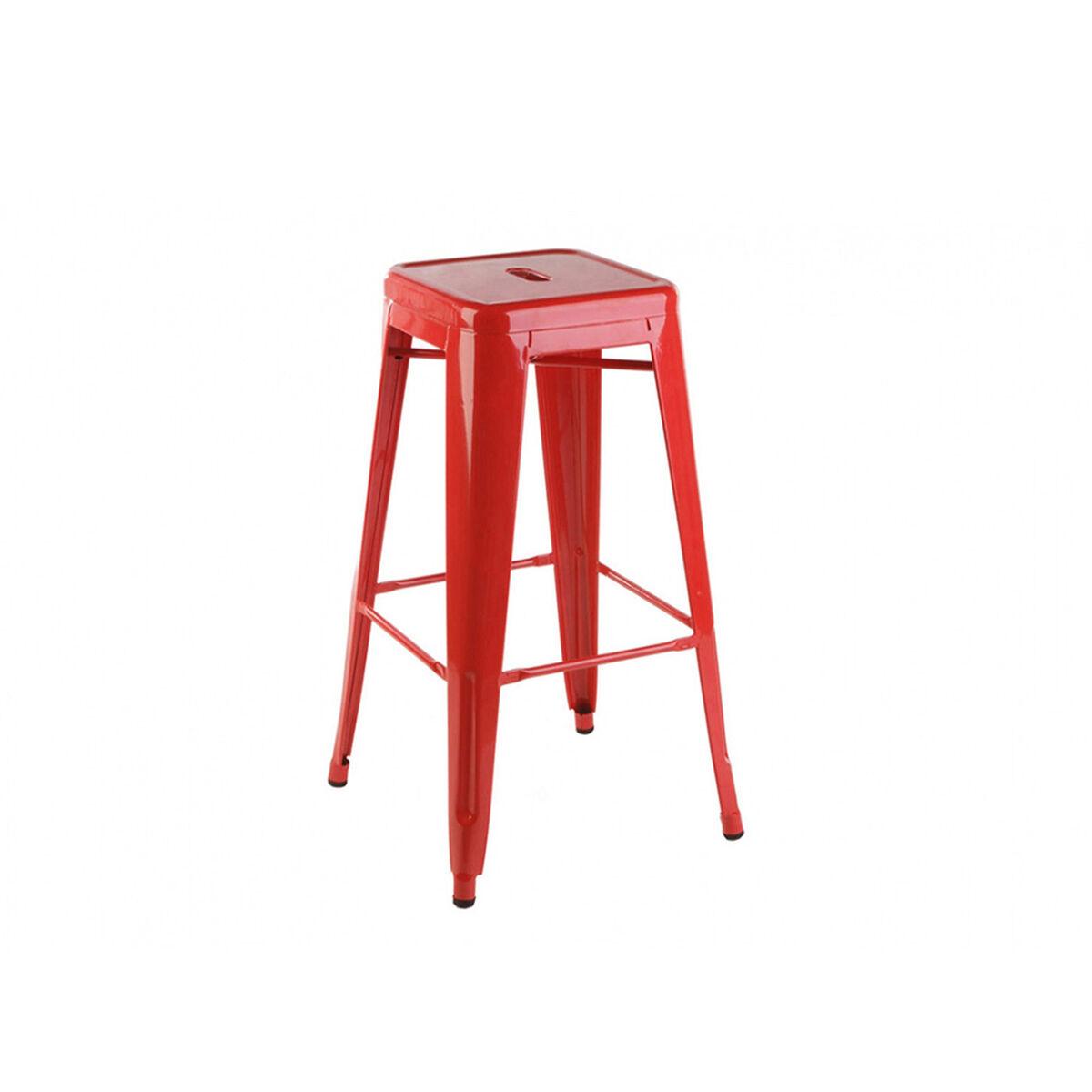 Piso de Bar Spazzio Tolix Alto Rojo